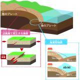 活断層で発生する地震と海溝型地震