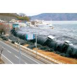 津波の写真(岩手県宮古市)