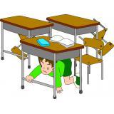 学校で避難する時の心がまえ
