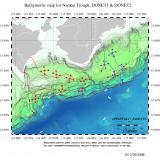地震・津波観測監視システム(DONET)(海底地形入リ)
