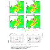 震源断層を特定した地震動予測図