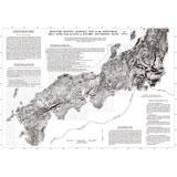 関東~九州地方の重力異常分布