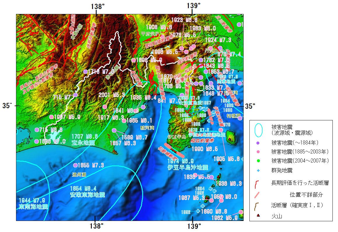 トラフ 地震 相模