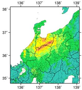 跡津川断層帯