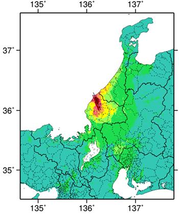 地震 今日 福井